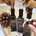 日式絹印應用-橄欖油瓶裝飾彩繪