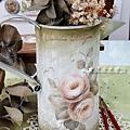澆水壺彩繪-玫瑰彩繪應用