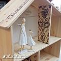 彩繪傢俱應用-IKEA娃娃屋層架