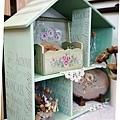 娃娃屋掛牆式層架-彩繪應用