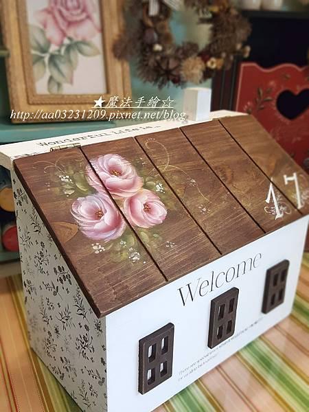 房屋形信箱-傢飾彩繪
