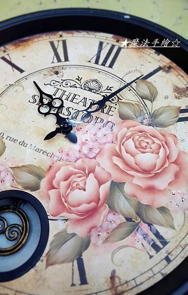 鐘款彩繪-玫瑰彩繪