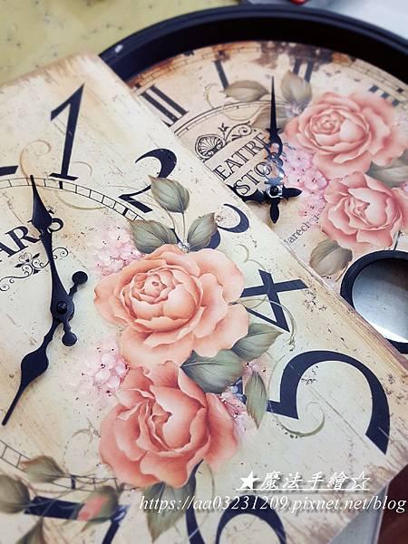 玫瑰彩繪教學應用-魔法手繪