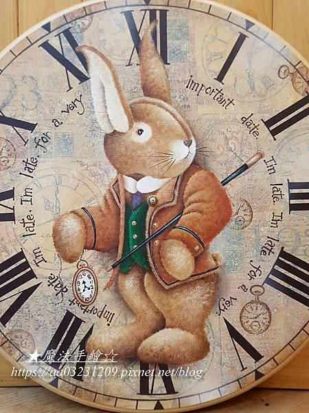 愛麗絲夢遊仙境-彩繪時鐘