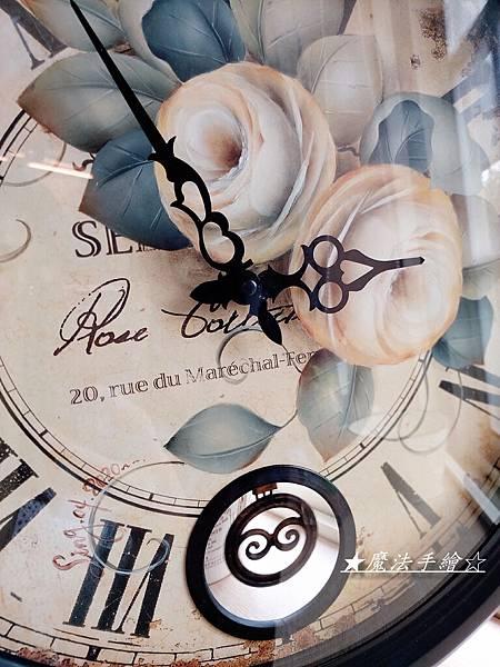 雜貨鐘彩繪/鐵製圓鐘彩繪