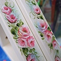 玫瑰彩繪-IKEA層板支架應用