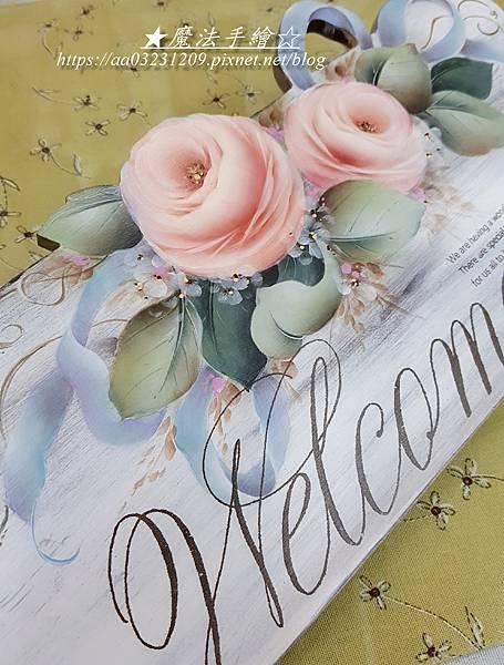彩繪教學-玫瑰彩繪教學推廣