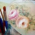 玫瑰彩繪教學-魔法手繪