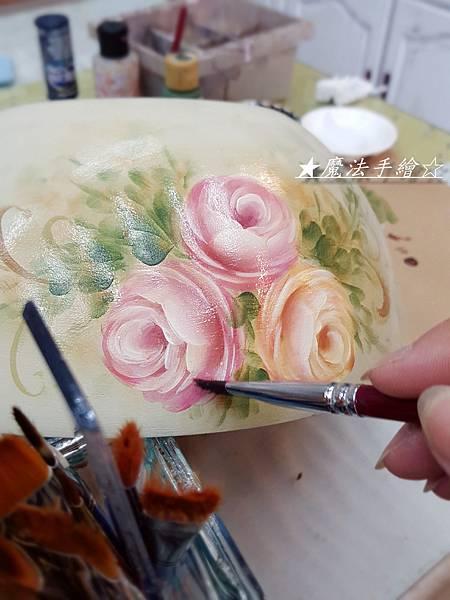 彩繪教學-木器彩繪