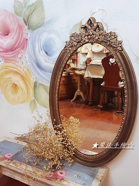 古典鏡框-彩繪教學推廣-魔法手繪
