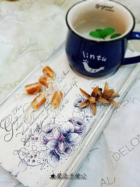 彩繪教學推廣-茶盤彩繪