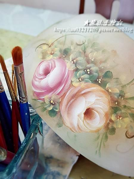 彩繪教學-彩繪玫瑰課程