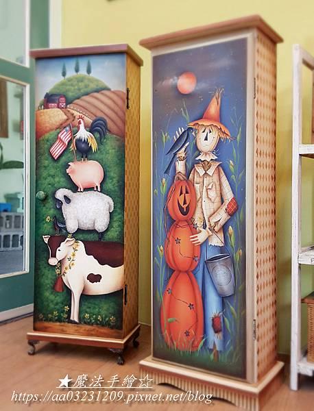 鄉村彩繪-美式風格%2F魔法手繪