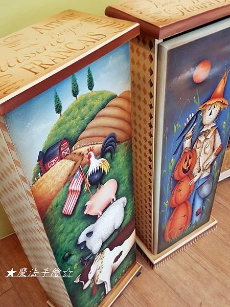 魔法精緻手繪坊-鄉村彩繪美式風格