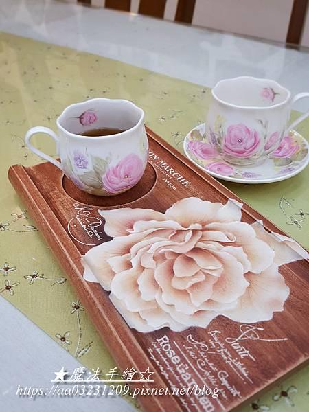 茶盤彩繪-魔法手繪坊%2F彩繪教學