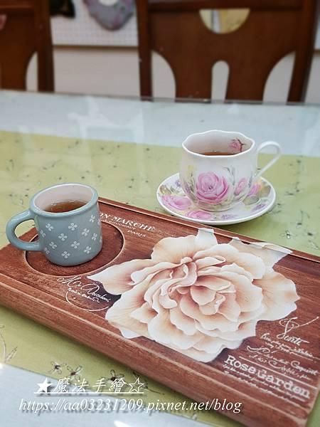 彩繪茶盤%2F木器彩繪%2F彩繪教學