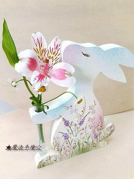 彩繪教學-傢飾彩繪-小兔子彩繪課程