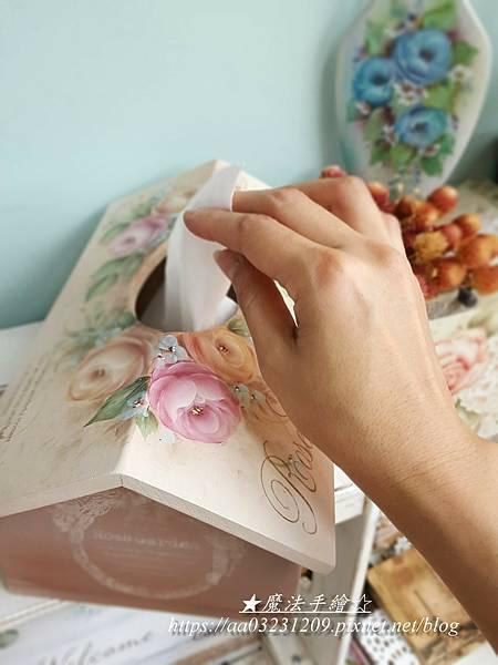魔法手繪坊-彩繪面紙盒抽