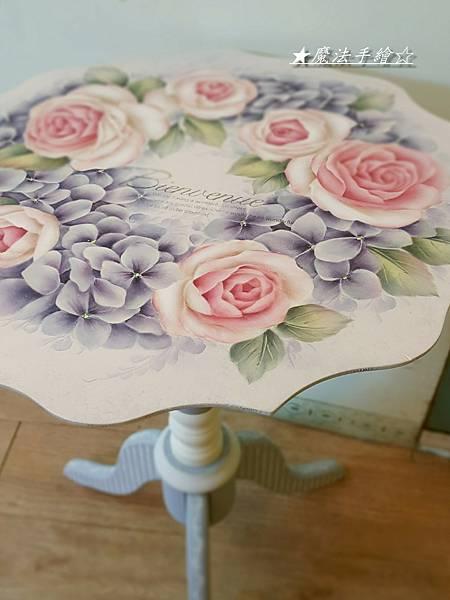 玫瑰精緻彩繪-彩繪教學