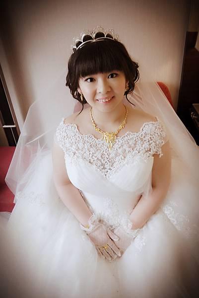 2016/3/26~可柔婚宴造型