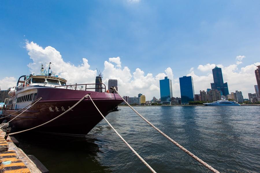 高雄港、港口、85大樓、漢神百貨、海邊-14