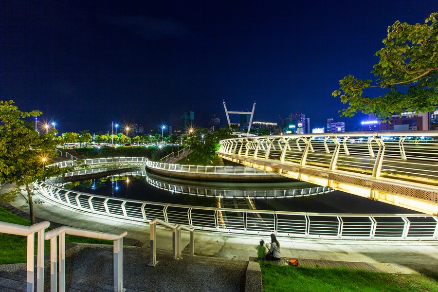 高雄愛河之星、綠意、公園、豪宅、房地產、社區大樓、休閒-10
