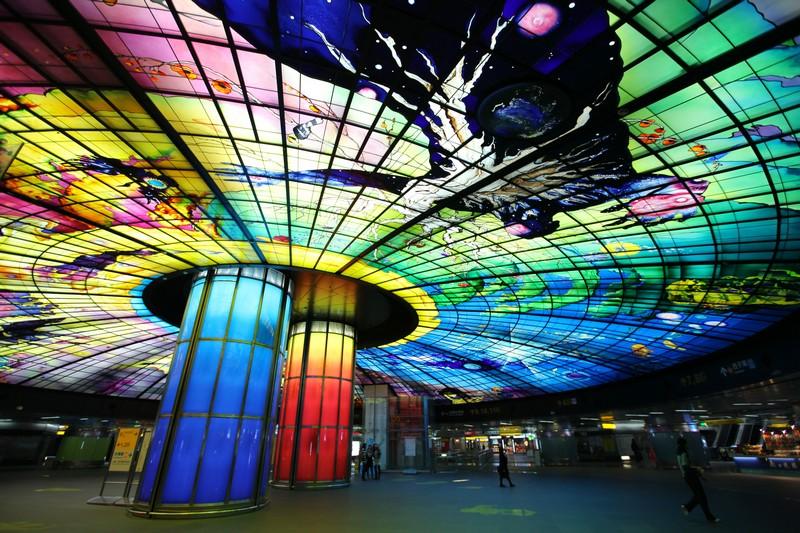 高雄捷運站、美麗島站、光之穹頂、站體、車箱-25.jpg