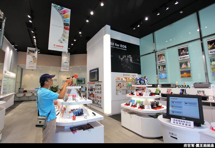 CANON台北客服展示中心、數位相機、辦公室、鏡頭-9379.JPG