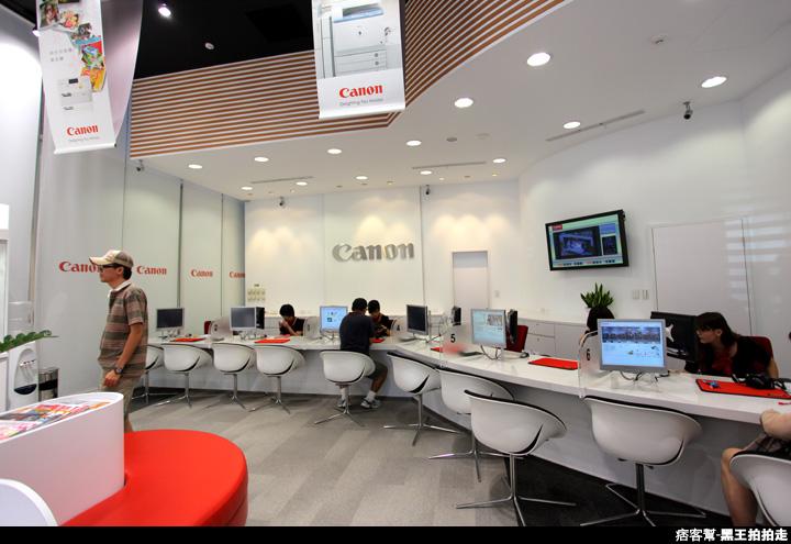 CANON台北客服展示中心、數位相機、辦公室、鏡頭-9349.JPG