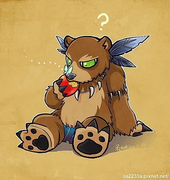 我的熊怪哪有那麼可愛