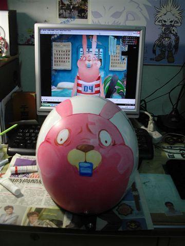 監獄兔安全帽