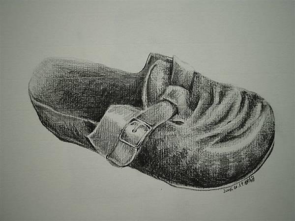 素描-小內鞋