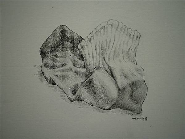 素描-襪子