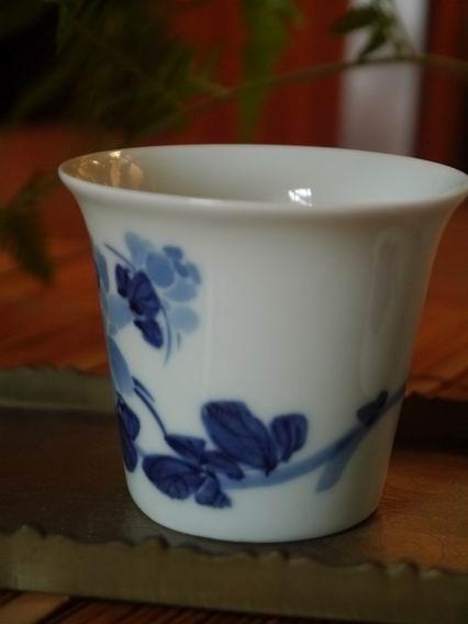 牡丹青花杯-大-3