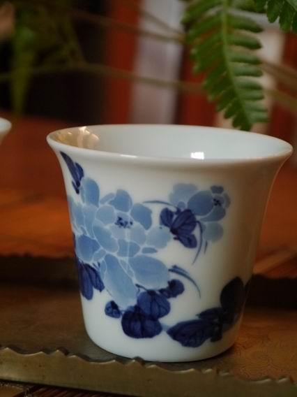 牡丹青花杯-大-4