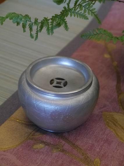 F60純鍚小水方花器-1