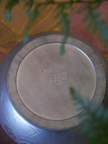 F60純鍚小水方花器-5