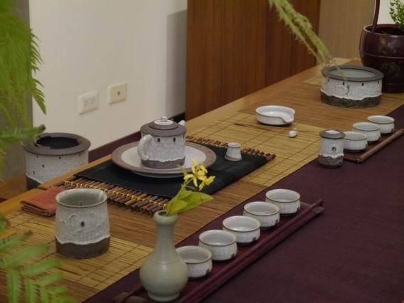 土樓茶具組-1