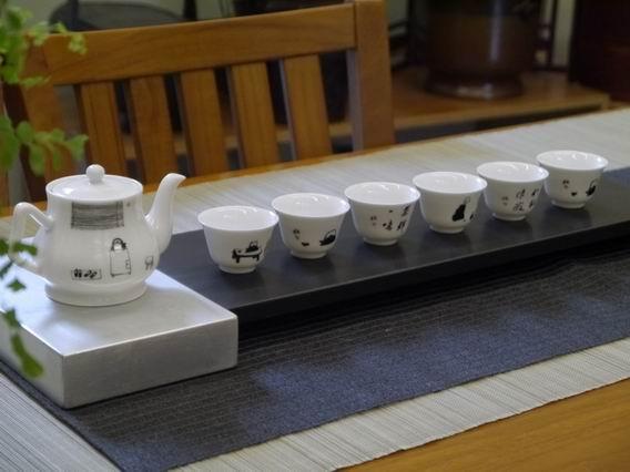 李蕭錕繪茶具組-1