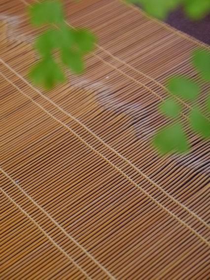 日本壓紋極細竹席-4