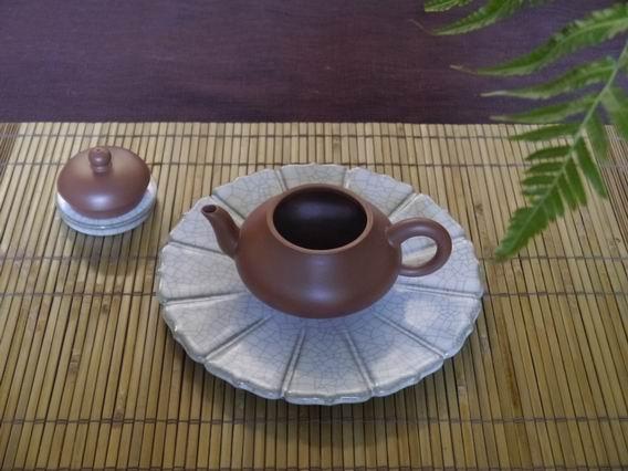 N1朱泥壺-2