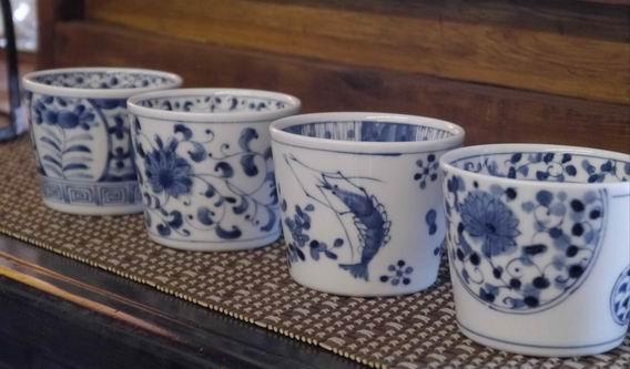 日本青花杯-1