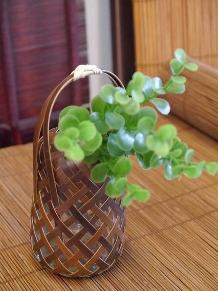 竹揙小花器-5