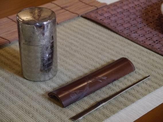 h11日本刻花茶則-4