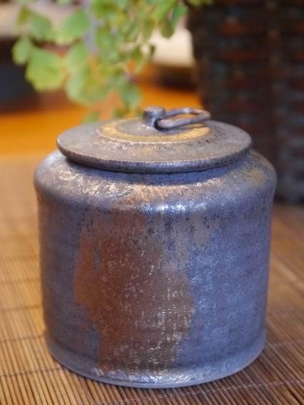 墨金茶罐A1-1