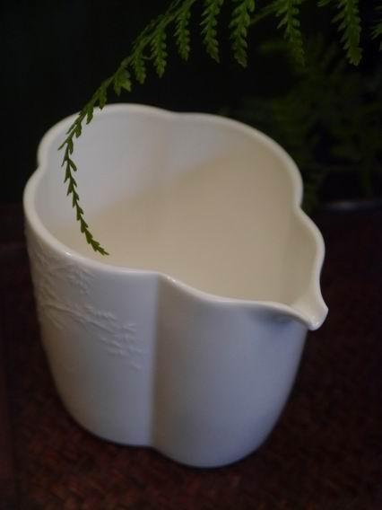 花瓣形浮竹瓷茶盅-2