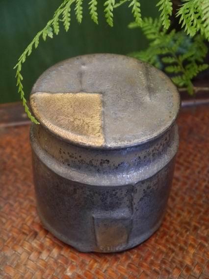 墨金茶罐A2-1