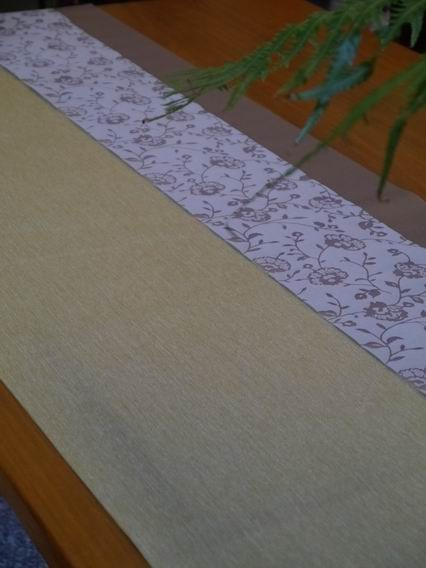 縷空花紋茶巾B01-2
