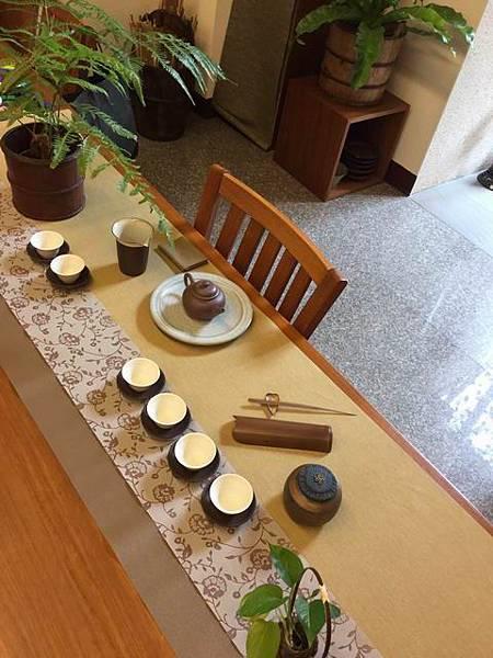 縷空花紋茶巾B01-6