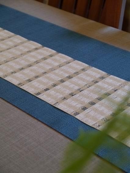 藍茶巾搭配a-1